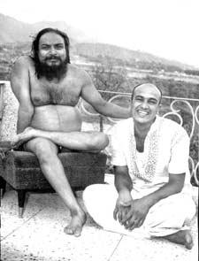 Swamiji and Babaji
